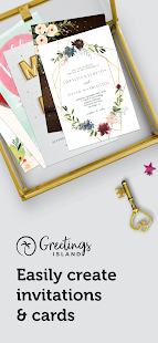 Invitation maker & Card design by Greetings Island 1.4.6 Screenshots 1