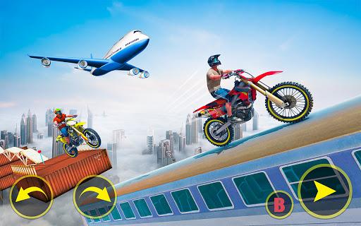 ramp bike impossible bike stunt game 2021 screenshot 2