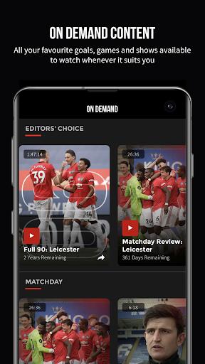 MUTV u2013 Manchester United TV 2.9.3 Screenshots 3