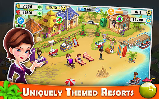 Resort Tycoon - Hotel Simulation 9.5 Screenshots 1