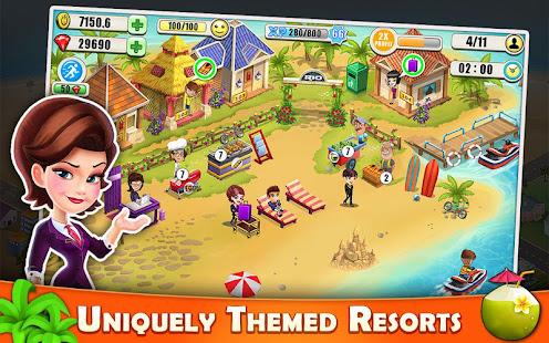 Resort Tycoon - Hotel Simulation 9.9 screenshots 1