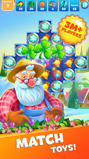Christmas Sweeper 3 - Puzzle Match-3 Game android2mod screenshots 1