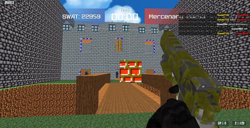 Shooting Advanced Blocky Combat SWAT  screenshots 11