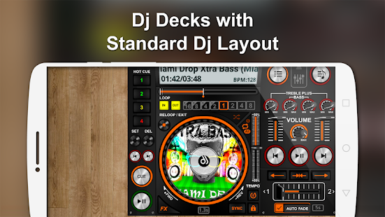 DiscDj 3D Music Player - 3D Dj Music Mixer Studio Screenshot