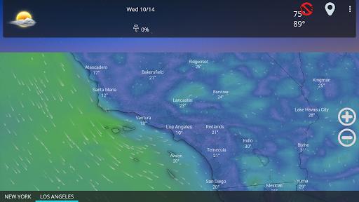 Weather forecast & transparent clock widget  Screenshots 16