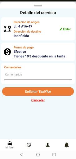 TaxiYAA New Usuario