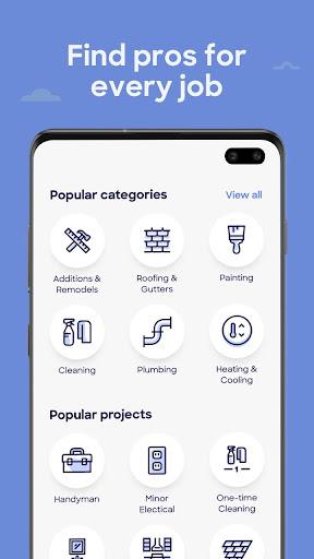 HomeAdvisor: Contractors for Home Improvement 20.5.2.6 screenshots 5