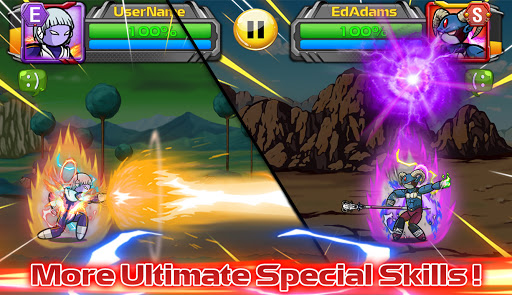 Stickman PvP Online - Dragon Shadow Warriors Fight  screenshots 12
