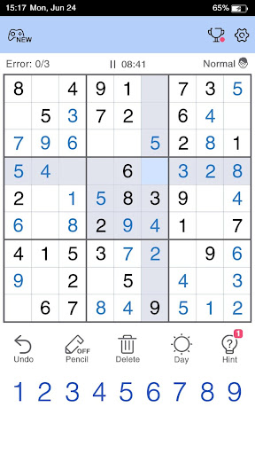 Sudoku - Free Sudoku Game screenshots 1