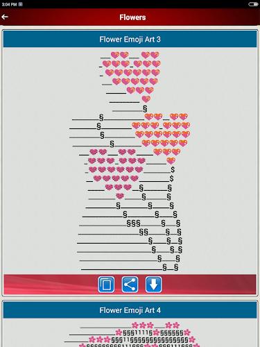 Emoji copy paste art