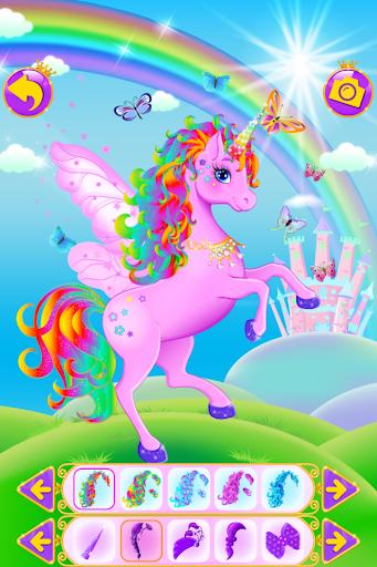 Unicorn Dress Up - Girls Games 2.3.7 screenshots 1