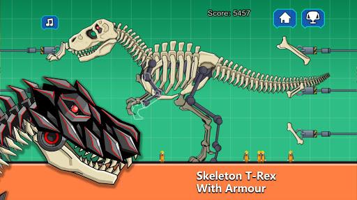 T-Rex Dinosaur Fossils Robot Age 2.6 screenshots 1