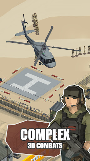 Idle Warzone 3d: Military Game - Army Tycoon 1.2.3 screenshots 2