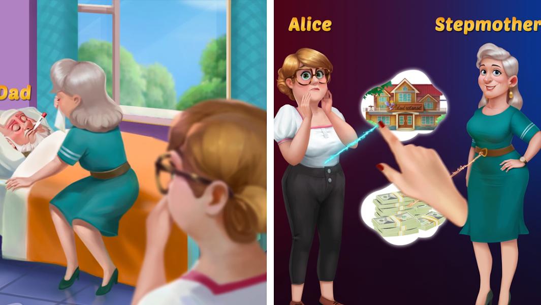 Alice's Restaurant - Fun & Relaxing Word Game