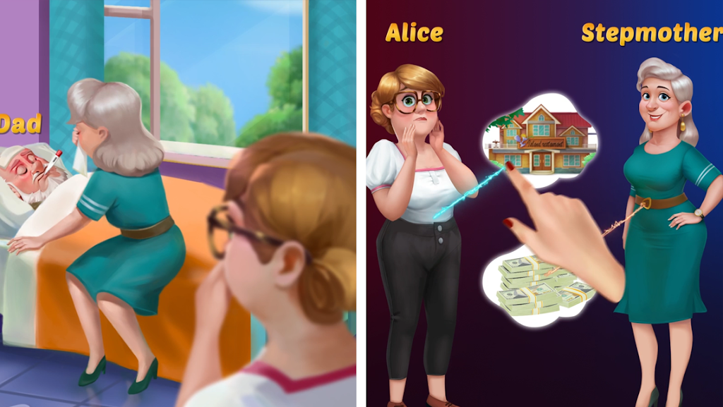 Alice's Restaurant - Fun & Relaxing Word Game poster 1