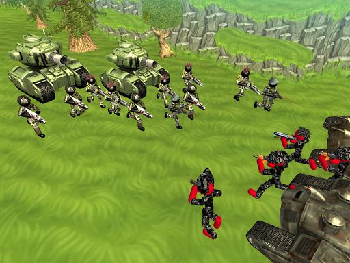 Stickman Tank Battle Simulator 1.10 screenshots 9