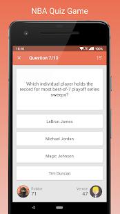 Fan Quiz for NBA