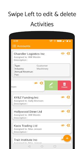 'ValCRM: SuiteCRM Mobile App'  screenshots 4
