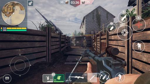 World War 2 - Battle Combat (FPS Games) android2mod screenshots 3