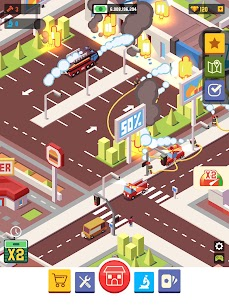 Idle Firefighter Empire Tycoon MOD APK 0.9.3 (Unlimited Money) 11