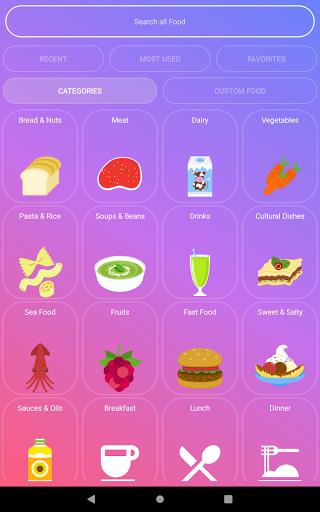 Calorie Counter - EasyFit free 4.0 Screenshots 6