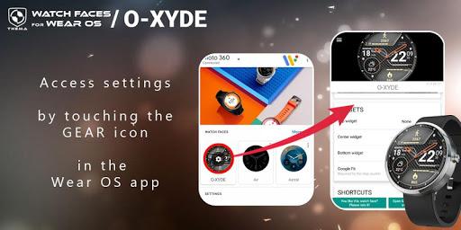 O-Xyde Watch Face Apkfinish screenshots 3