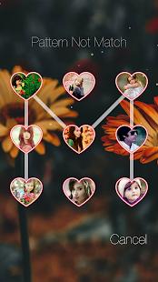 Photo Pattern Lock Screen