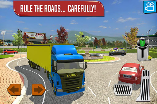 Delivery Truck Driver Simulator 1.1 screenshots 4