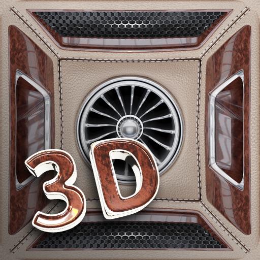 Live Wallpaper 3D + Widgets: clock, date & battery