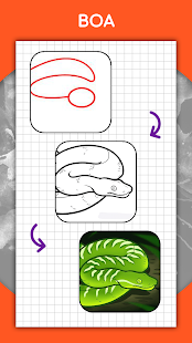 How to draw animals. Step by step drawing lessons 1.5.3 Screenshots 7