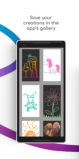 Sgraffito Drawing Pad - Digital art set doodle app 2.2.0 Screenshots 4