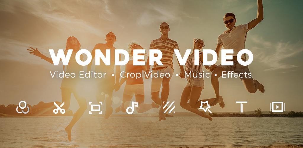 Video Editor, Crop Video, Edit Video, Magic Effect 2.8.0 Apk Download - com. video.master APK free