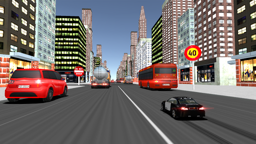 RC City Police Heavy Traffic Racer apkpoly screenshots 8
