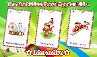 Amusement Park Cards (Learn English Faster)