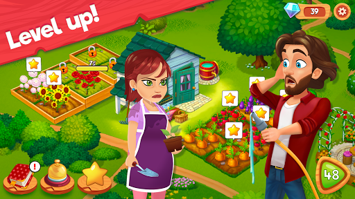 Delicious B&B: Match 3 game & Interactive story screenshots 11