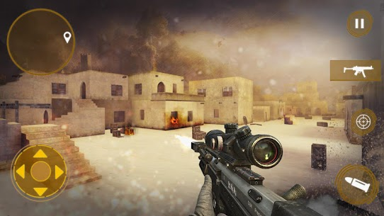 Unfallen Identity: FPS shooting mission game. Game Hack Android and iOS 5