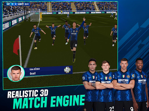 Soccer Manager 2022- FIFPRO Licensed Football Game screenshots 7