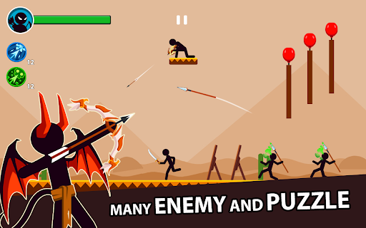 Stickman Archery Master - Archer Puzzle Warrior 1.0.12 Screenshots 6