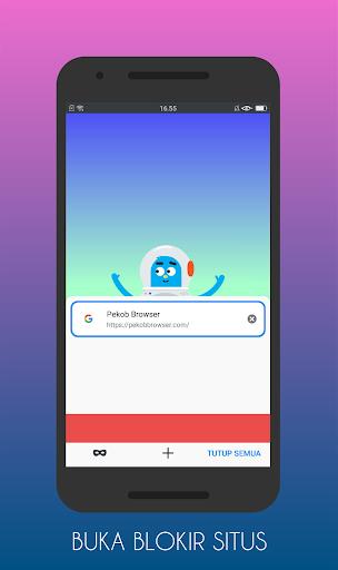 Pekob Pro: Browser Anti Blokir & Buka Blokir 2021 1.0.1.0 Screenshots 1