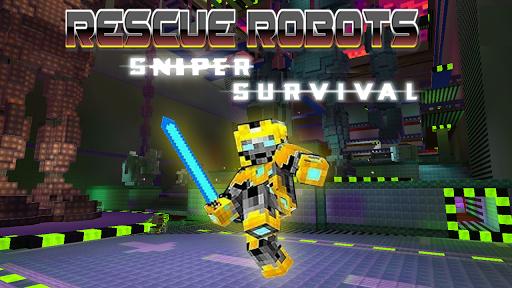 Rescue Robots Sniper Survival screenshots 1