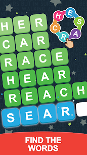 Word Search Sea: Unscramble words 1