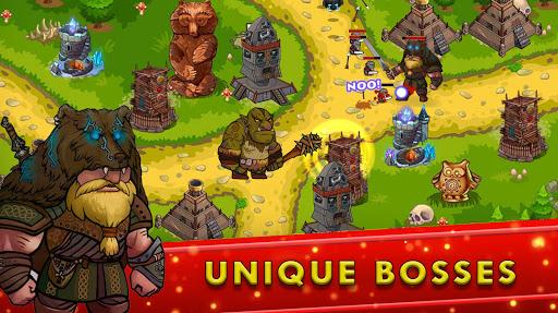 Tower Defense Games - GOLDEN LEGEND apklade screenshots 1