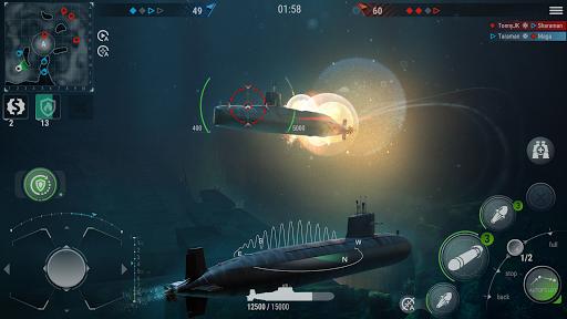 WORLD of SUBMARINES: Navy Warships Battle Wargame Apkfinish screenshots 2
