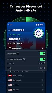 Windscribe VPN 2.4.601 Screenshots 3