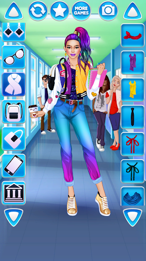 College Student Girl Dress Up android2mod screenshots 23