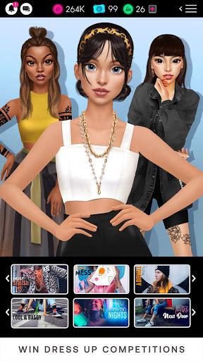 GLAMM'D - Style & Fashion Dress Up Game apktram screenshots 5