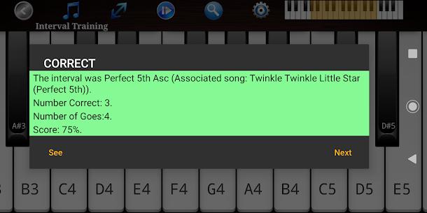 Download Piano Ear Training Pro – Ear TrainerMOD APK 4