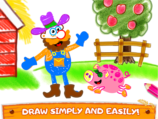 Old Macdonald had a farm ud83dude9c Drawing games for kids  Screenshots 10