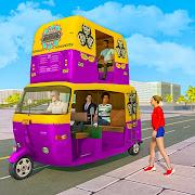 Tuk Tuk Auto Rickshaw Driving: Free Driving Games