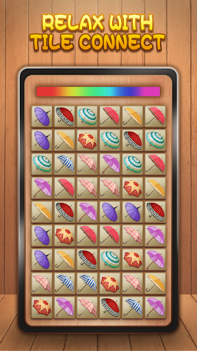 Tile Connect - Free Tile Puzzle & Match Brain Game screenshots 1